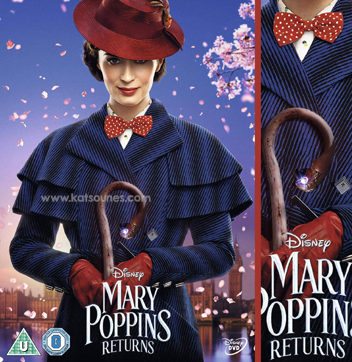 H Mary Poppins με την κατσούνα της